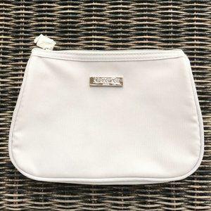 KERASTASE Cosmetic Makeup Bag Grey Silver NWOT